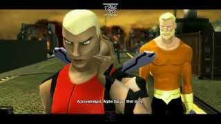 Young Justice Legacy Walkthrough Part 11 Gameplay Film Scenes