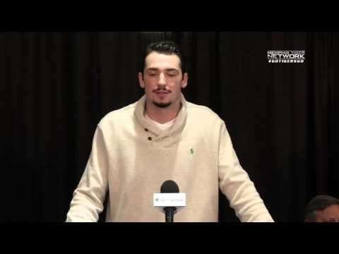 Memphis Football: Paxton Lynch Press Conference