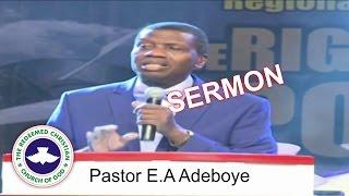 Pastor E.A Adeboye Sermon @ RCCG South Africa FESTIVAL OF LIFE 2016