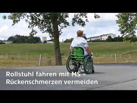 Multiple Sklerose und Beschwerden im Rollstuhl - dynamisches Sitzen bringt die Lösung