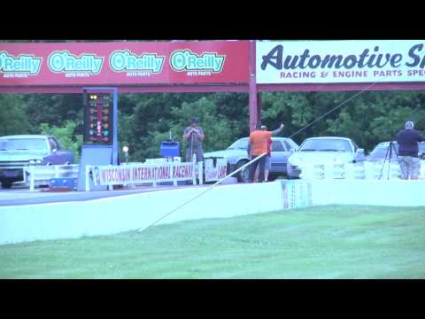 Porsche 928 Turbo At The Drag Strip From Green Bay, WI