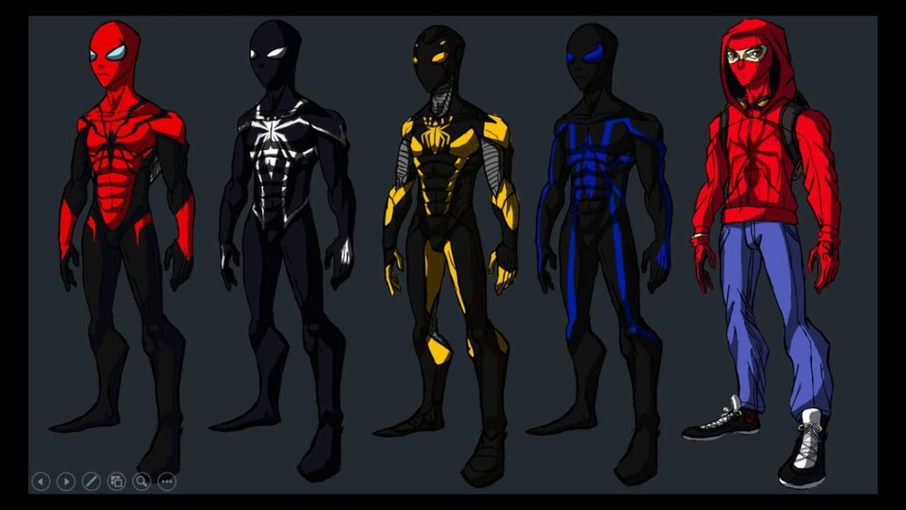Картинки человека паука костюмы