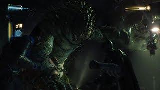 Batman: Arkham Knight- Killer Croc Boss Fight (Beneath the Surface)