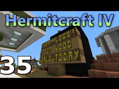 Hermitcraft 4 Ep. 35- Shopping Fix