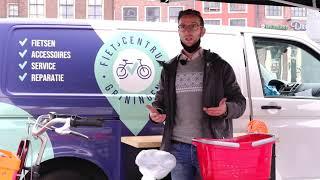 Veel belangstelling voor gratis reparatie fiets