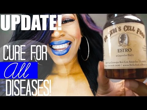 UPDATE: Cure For All Diseases Dr. Sebi Cell Food UnBoxing!