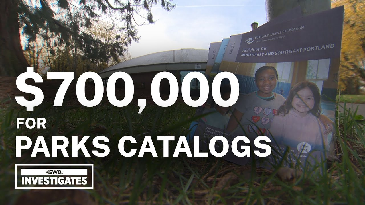 Many Portland Parks catalogs dumped after the city spent $726,862 to print them