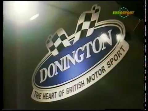 Rubens Barrichello Visits The Donington Grand Prix Collection 1993.