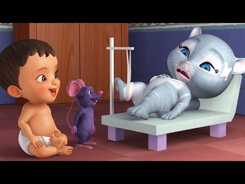 Meow Meow Pilli | Telugu Rhymes for Children | Infobells