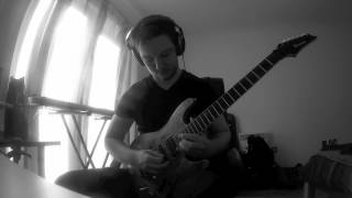 Andy James Demons Guitar Solo Cover - Grant Bain