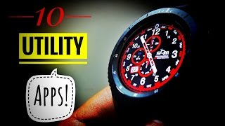 10 Utility apps for Gear S3 Frontier!