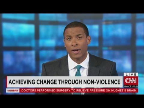 Achieving change through non-violence