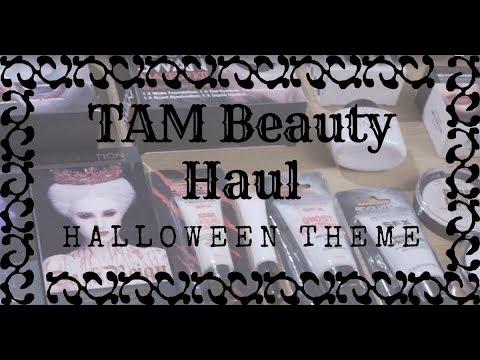 Makijaż GOTYCKI Kosmetyczny HAUL TAM Beauty Makeup Revolution