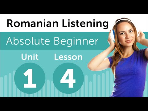 Romanian Listening Practice - Reading a Romanian Journal