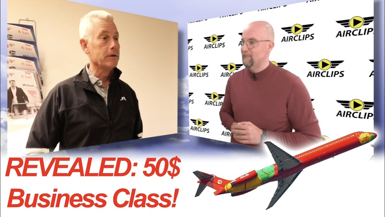Airline CEO reveals HOW TO DO IT: Fly MD-80 BUSINESS CLASS JET now for only 50 bucks!!!