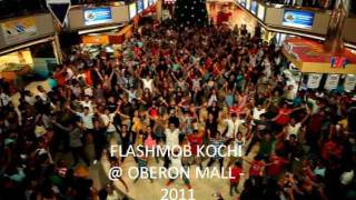 Flashmob Cochin Official Video HD | December 2011 | Oberon Mall Kochi