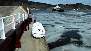 Cable Ferry In Ice