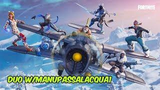 FORTNITE Battle Royale - Partita con Manupassalacqua1! Sarà reale vittoria?