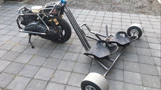 Drift trike traction 125cc YAMAHA