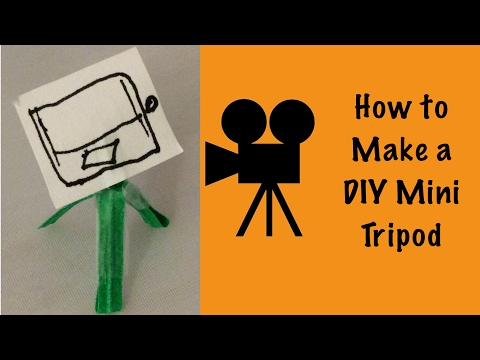 How to Make a DIY Mini Tripod