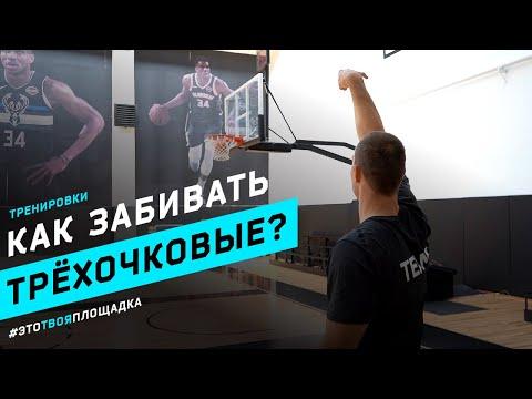 Трёхочковый бросок в баскетболе. Как научиться забивать?