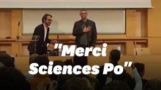 Le rappeur Fianso a mis l'ambiance à Sciences Po