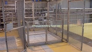Goods Lift, Scissor Table Goods Lift, Pallet Lift, Stainless Steel Goods Lift, Scissor Tables