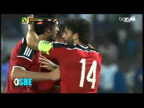 هدف محمد صلاح في نيجيريا HD شاشة كاملة | مصر ونيجريا
