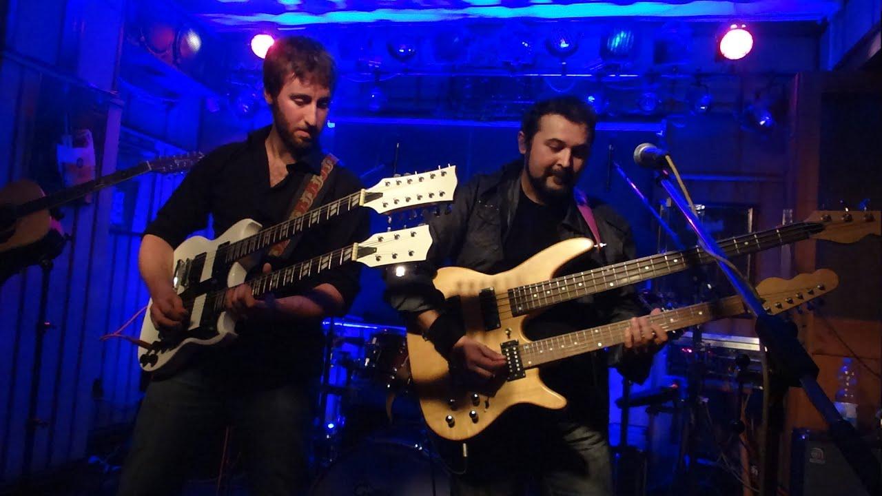 Rush Cover Band La Villa Strangiato Bergkeller 2014 11 15