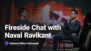 Fireside Chat with Naval Ravikant - New Frontiers 2019