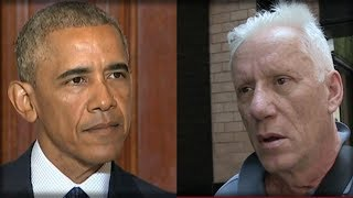 OBAMA CALLED FOR GUN CONTROL AFTER CHURCH MASSACRE, SO JAMES WOODS SUCKER PUNCHED HIM