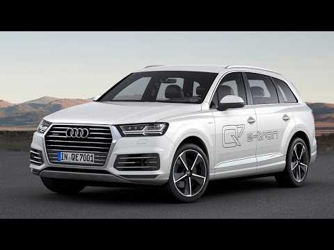 2017 Audi Q7 E Tron 3 0 Tdi Quattro Review Rendered Price Specs Release Date