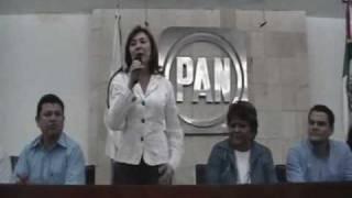 Beatriz Zavala Peniche, candidata del PAN a la Alcaldía de Mérida