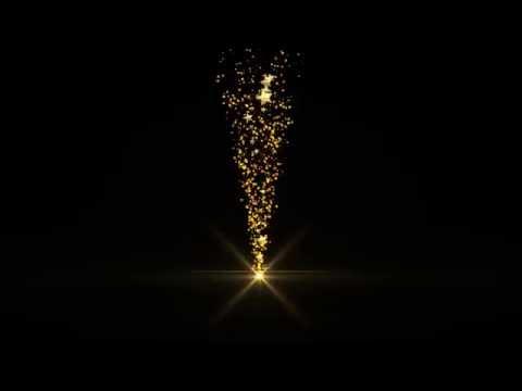 HD ПЕРЕХОД ЗОЛОТЫЕ ЗВЕЗДЫ частицы Particles 6 футаж скачать бесплатно 2018 TRANSITION GOLD STARS