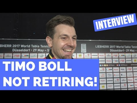 TIMO BOLL NOT RETIRING - WORLD CHAMPIONSHIPS 2017!