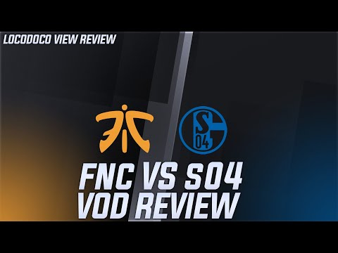 Fnatic vs Schalke 04 - ' Schalke is on a decline'  - LEC Week 6 [ VOD Review ]