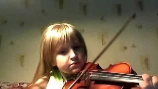 Скрипка. Урок скрипки № 1.
