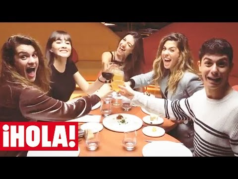 La primera fiesta de AMAIA, ALFRED, AITANA, ANA GUERRA y MIRIAM, de OT