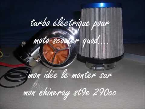 Presentation Turbo Electique Moto Scooter Quad By Momo