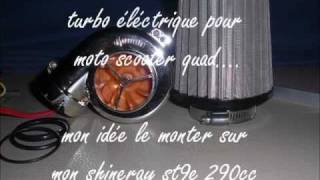 presentation turbo éléctique moto scooter quad By momo