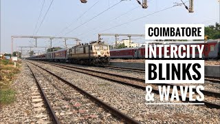 HAPPY MOMENT UNEXPECTED GESTURE FROM LOCO PILOT BLINKED & WAVED : INDIAN RAILWAYS