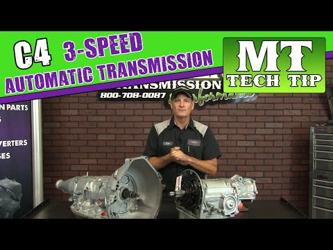 C4 3-Speed Automatic Transmission