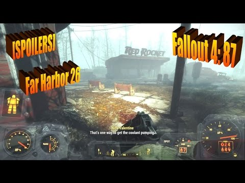 [SPOILERS - Far Harbor 26/F4 87] 50ish Gamer Let's Plays Fallout 4 - Checking In Grand Hotel