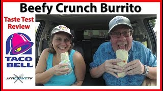 Taco Bell | NEW Beefy Crunch Burrito | Taste Test Review 2018 | JKMCraveTV