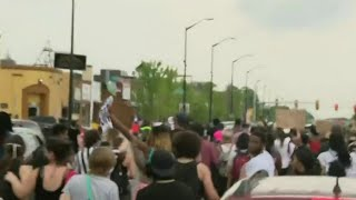 Police, protesters clash Detroit's west side following fatal shooting