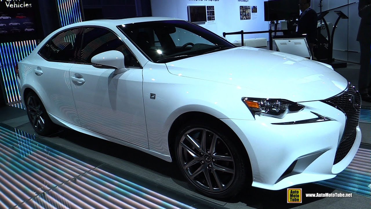 2015 Lexus IS250 F Sport   Exterior And Interior Walkaround   2014 LA Auto  Show   YouTube