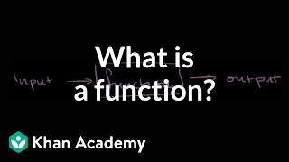 What is a function? | Functions and their graphs | Algebra II | Khan Academy thumbnail