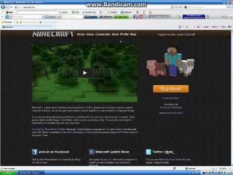how to get free minecraft (official website) - YouTube