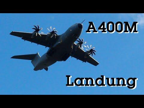 Airbus A400M - Landung
