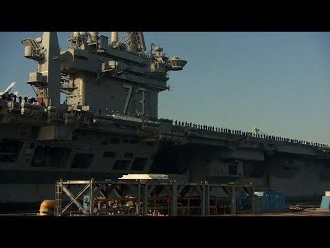 BIGGEST WARSHIP IN THE WORLD - USS GEORGE WASHINGTON - BBC NEWS